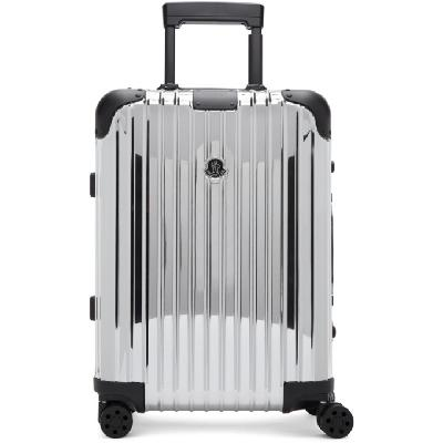 Moncler Genius Moncler Rimowa 'Reflection' Silver Suitcase