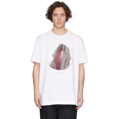Moncler Genius 6 Moncler 1017 ALYX 9SM White Graphic T-Shirt