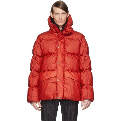 Moncler Genius SSENSE Exclusive 6 Moncler 1017 ALYX 9SM Red Eris Giubbutto Down Jacket
