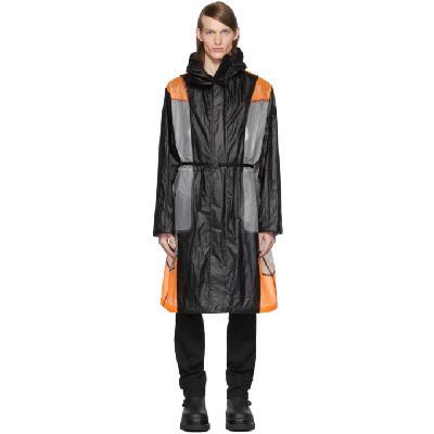 Moncler Genius 6 Moncler 1017 ALYX 9SM Black & Orange Colorblock Cosmos Jacket