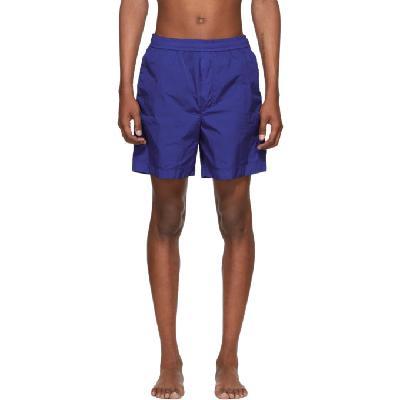 Moncler Blue Bermuda Swim Shorts