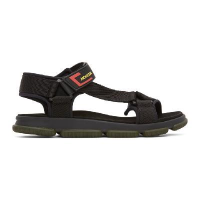 Moncler Black Simeon Sandals