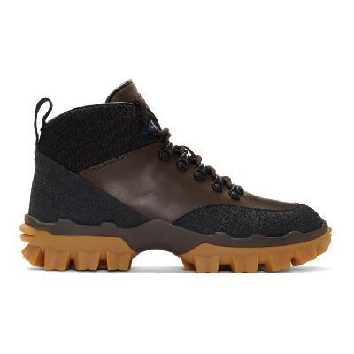 Moncler Black & Brown Hektor Boots