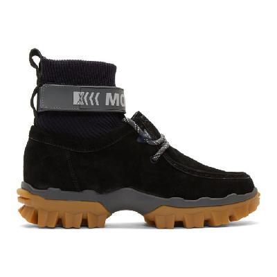 Moncler Black Henke Boots