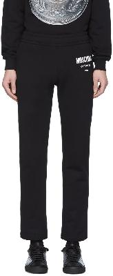 Moschino Black 'Couture' Lounge Pants