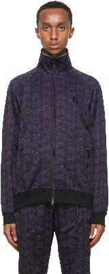 Needles Black & Purple Papillon Track Jacket