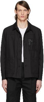 Neil Barrett Black Nylon Tela Jacket