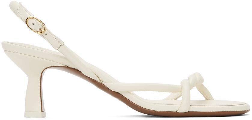 NEOUS Off-White Tiaki 55 Heeled Sandals