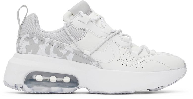 Nike White & Grey Air Max 'Viva' Low Sneakers