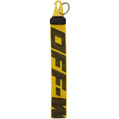 Off-White Yellow Industrial 2.0 Keychain