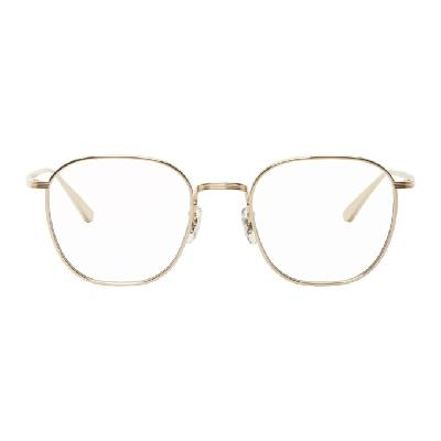 Oliver Peoples The Row Gold Board Meeting 2 Glasses