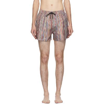Paul Smith Multicolor Striped Classic Swim Shorts