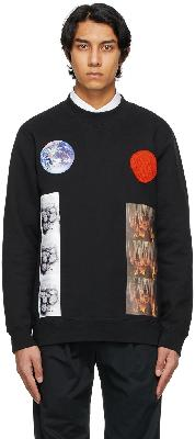 Raf Simons Black Sterling Ruby Edition Patches Sweatshirt