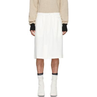 Random Identities Off-White Officer Skirt Shorts