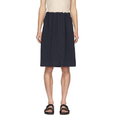 Random Identities Navy Loose-Fit Sport Sweat Skirt