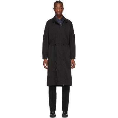 Random Identities Black Versatile Dress Coat