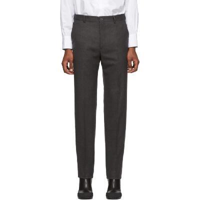 Random Identities Grey Wool Classic Trousers