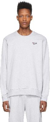Reebok Classics Grey Small Vector Sweatshirt