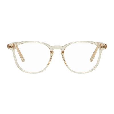 RETROSUPERFUTURE Beige Numero 51 Square Glasses