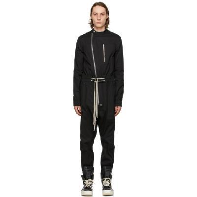 Rick Owens Black Gary Flightsuit