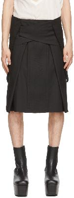Rick Owens Black Strutter Skirt