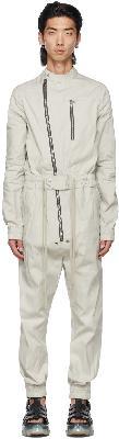 Rick Owens Grey Gary Flightsuit