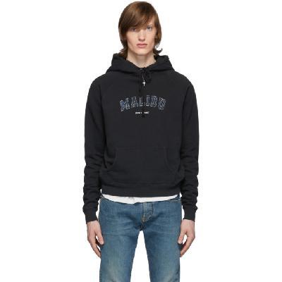 Saint Laurent Black 'Malibu' Hoodie