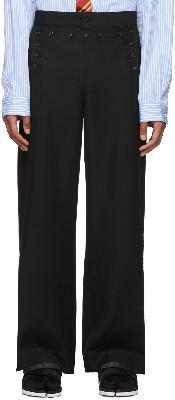 Sankuanz Black Sailor Trousers
