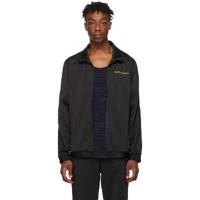 Saturdays NYC Black Everett Track Jacket
