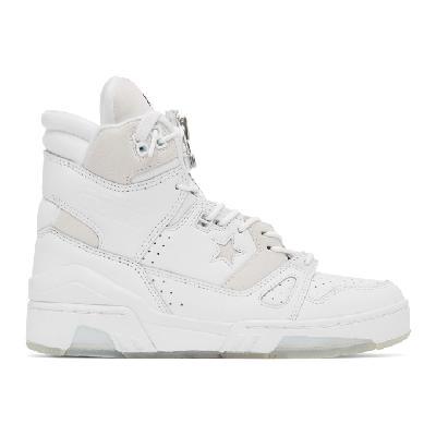 TAKAHIROMIYASHITA TheSoloist. White Converse Edition 'I Am The Soloist' Sneakers
