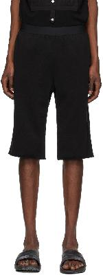 TAKAHIROMIYASHITA TheSoloist. Black Jogger Shorts