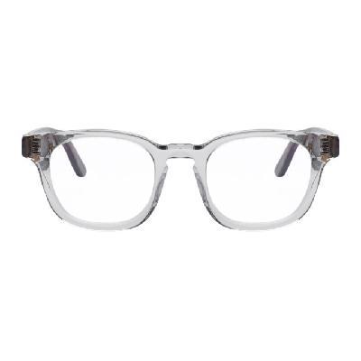 Thierry Lasry Grey & Tortoiseshell Dystopy 850 Glasses