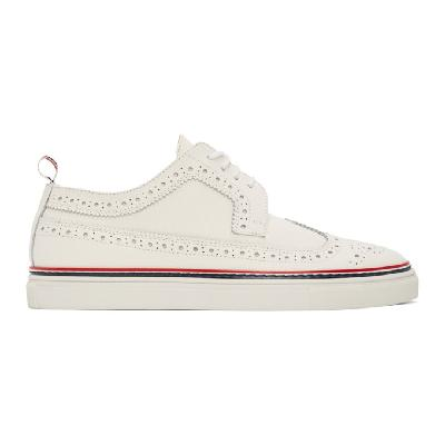 Thom Browne Off-White Cupsole Longwing Brogues