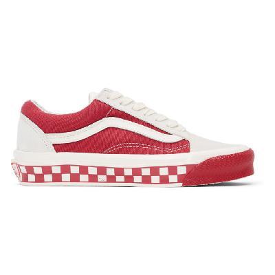 Vans Red Bumper Cars OG Old Skool LX Sneakers