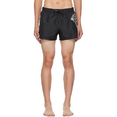 Versace Underwear Black Medusa Swim Shorts