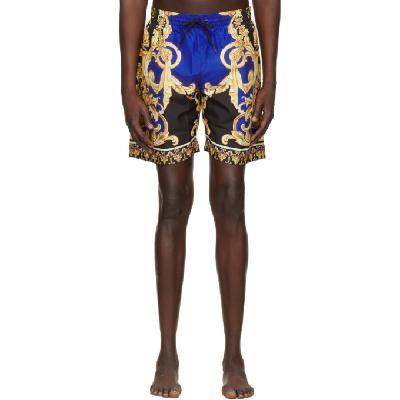 Versace Underwear Multicolor 'Le Pop Classique' Swim Shorts