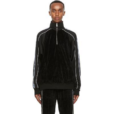 Versace Black Medusa Half-Zip Track Jacket