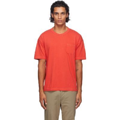 Visvim Three-Pack Multicolor Sublig Pocket T-Shirts