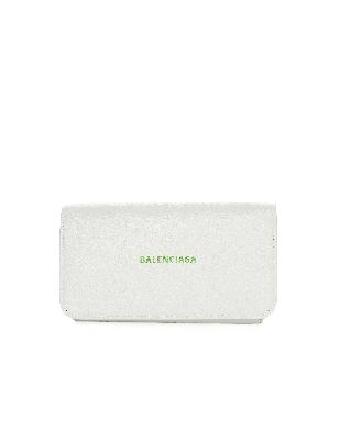 Balenciaga White Leather Case