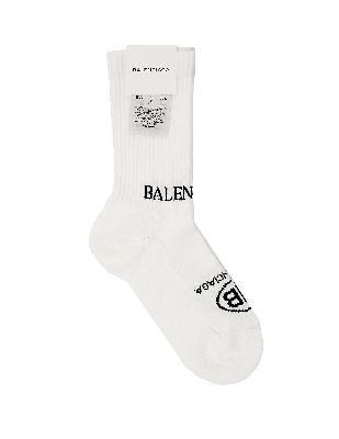 Balenciaga Cotton Logo Socks