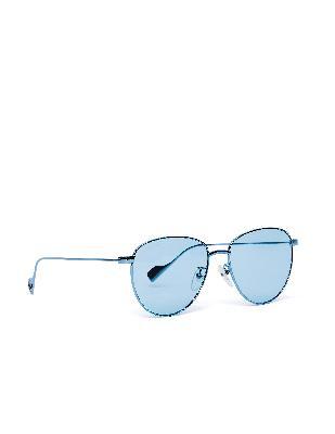 Balenciaga Blue Invisible Sunglasses