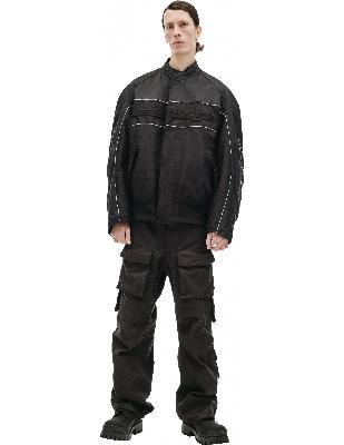 Balenciaga Black Motorcycle Jacket