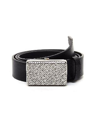 Balenciaga Purse Buckle Leather Belt