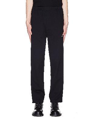 Balenciaga Black Logo Printed Sweatpants