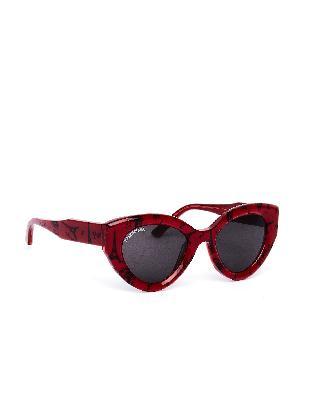 Balenciaga Paris Printed Cat Sunglasses