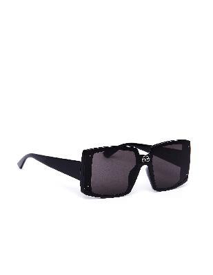 Balenciaga Black Square BB Sunglasses