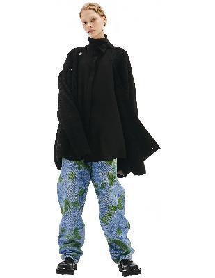 Balenciaga Black Wool Long Sleeve Cardigan