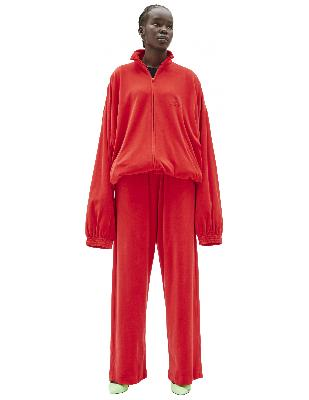 Balenciaga Red Oversize Track Jacket