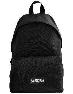 Balenciaga Black Explorer Backpack