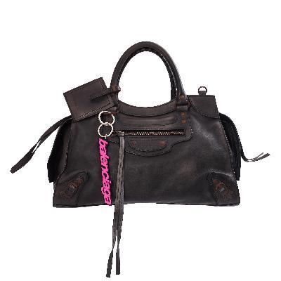 Balenciaga Neo Classic Medium Top Handle Bag in Black
